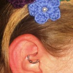 daith Pierced by Eric at Living Canvas Tattoo