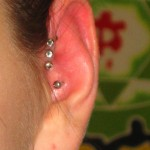 triple helix (3) Pierced by Eric at Living Canvas Tattoo