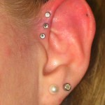 triple helix (7) Pierced by Eric at Living Canvas Tattoo